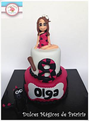 Flintstones cake for Paula and Olga  - Cake by Dulces Mágicos de Patricia
