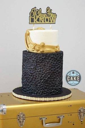 Star Wars Wedding Cake -May the Sugar Force be With You Collaboration  - Cake by Cake by Sarah Jane