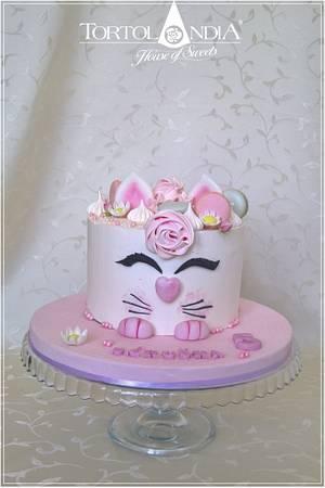 Sweet cat - Cake by Tortolandia