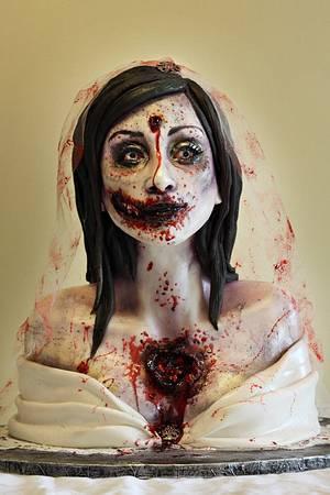 Zombie Bride - Cake by Sarah Ono Jones