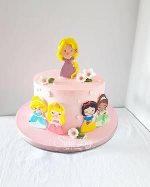 Princess Disney Cake - Cake by Sara Luz