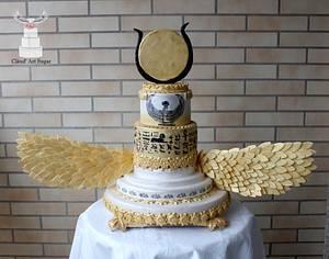Ísis Wedding Cake - Egypt Land of Mistery Collab - Cake by Cláud' Art Sugar