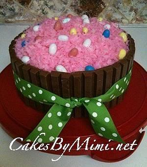 Kit Kat Easter Cake - Cake by Emily Herrington