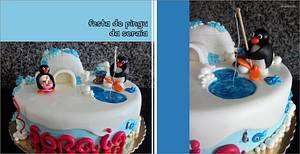 Soraia's Pingu Cake! - Cake by Bela Verdasca