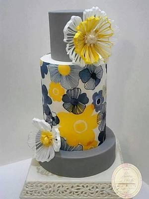 FILIGREE Wedding Cake - Cake by Il Laboratorio Di Raffy