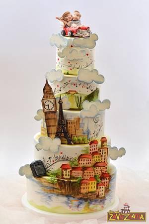 Love Is All Around The World - Cake by Nasa Mala Zavrzlama