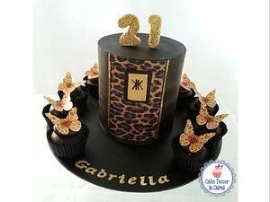 Kardashian Inspired 21st Cake - Cake by Cake Decor in Cairns