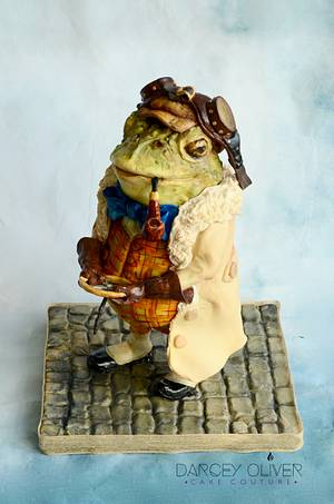 Mr. Toad - Everyone's Story Matters - Cake by Sugar Street Studios by Zoe Burmester