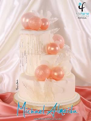 Isomalt wedding cake - Cake by Michael Almeida