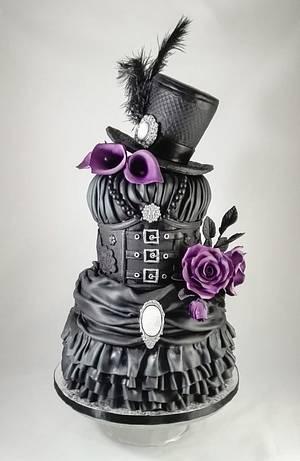 Steampunk wedding cake  - Cake by Vanessa Rodríguez