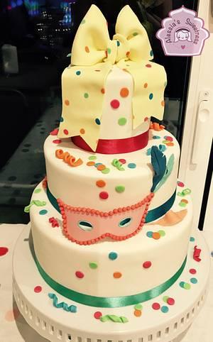 Carnevale Cake - Cake by Alessia's Sweetness