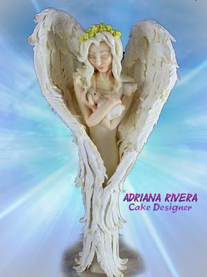 The Guardian Angel - Cake by Aroma de Azúcar
