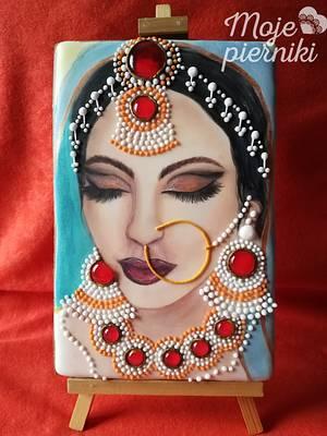 Indian women - Cake by Ewa Kiszowara