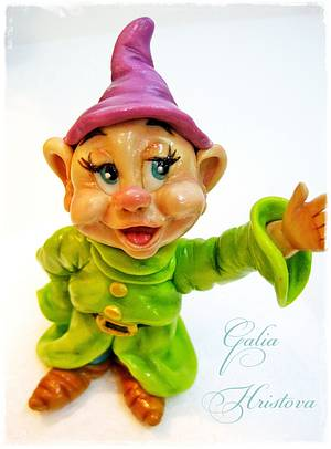 Dopey dwarf - Cake by Galya's Art