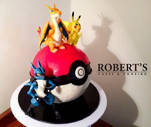 Pokemon cake - Cake by Robert Harwood