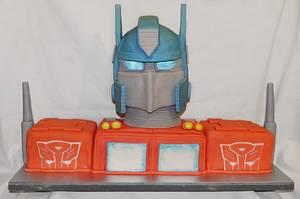 optimus prime cake - Cake by joe duff