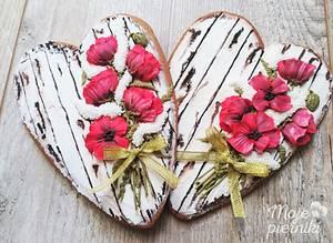 Poppies - Cake by Ewa Kiszowara