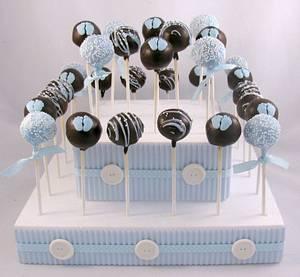 Cake Pop Centerpiece - Cake by Cheryl