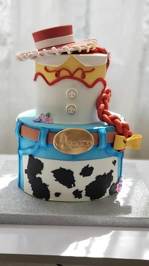 Toy Story cake Jessy - Cake by Carla Astigiano