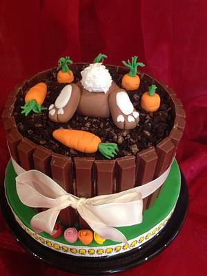 Easter cake - Cake by Nanna Lyn Cakes