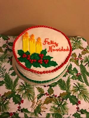 Feliz Navidad - Cake by Julia