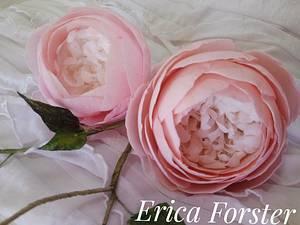 Peonies💕 - Cake by Erica Förster