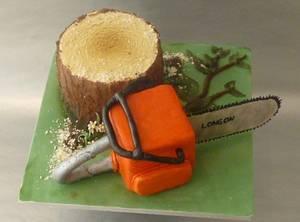 Tree Surgeon  - Cake by Essentially Cakes