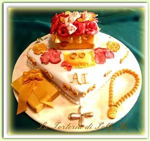 Nozze d'oro - Cake by La Torteria di Polly Dì