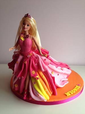 Barbie and the Secret Door. - Cake by Suzi Saunders