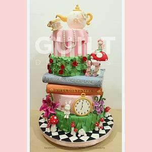 Jessica's Sweet 17th Wonderland - Cake by Guilt Desserts