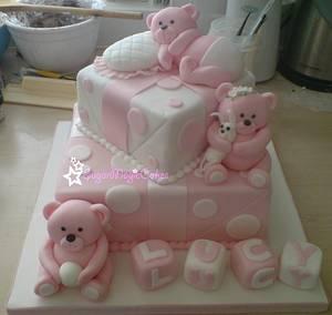 Teddy Bear Gifts ♡ - Cake by SugarMagicCakes (Christine)