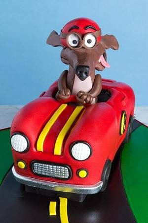 Hot Rod Doggie Part 1 with Wayne Steinkopf - Cake by Sharon Zambito