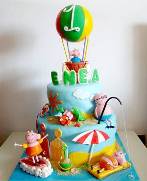 Peppa Pig cake - Cake by Le Torte di Mary