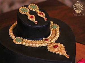 Indian Jewellery cake - Cake by Meenal Rai Shejwar