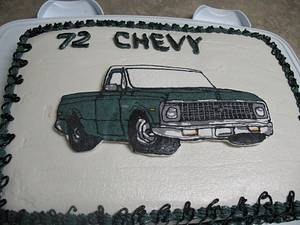 72 chevy pickup - Cake by cher45