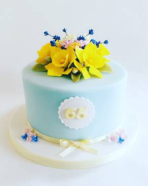 Spring flowers - Cake by Nikki's Cakes