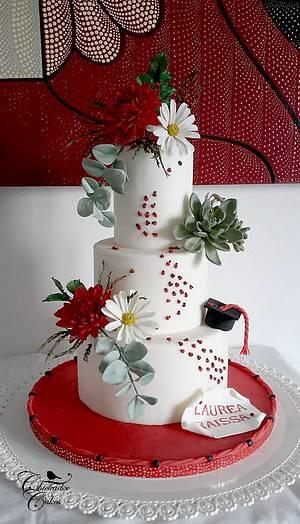 Graduation Cake - Cake by Chickadee Cakes - Sara