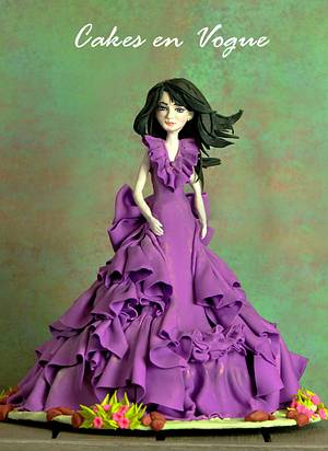 Fashion is Art! - Cake by Cakes en Vogue