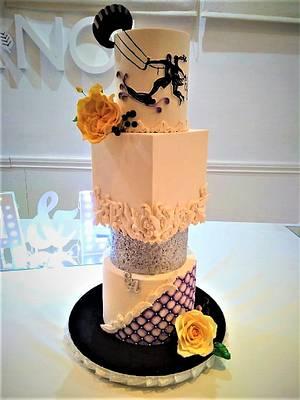 WEDDING CAKE  - Cake by SONIA PORCÚ