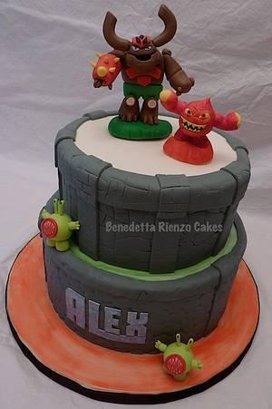Skylanders Cake - Cake by Benni Rienzo Radic
