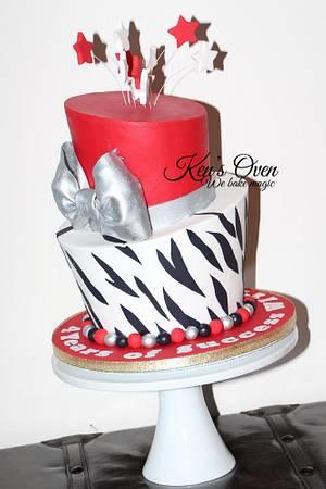 Celebration Topsy Turvy Cake - Cake by Kendari Gordon