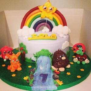 Moshi monsters  - Cake by Marie