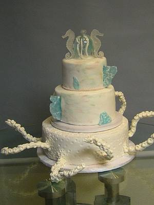 OCTOPUS CAKE - Cake by Cakeicer (Shirley)