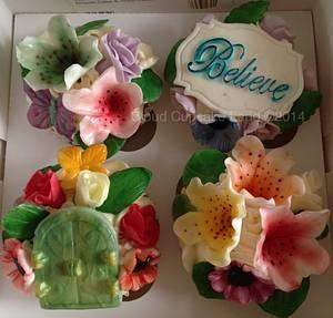Wish Upon a Cupcake - Cake by Deb
