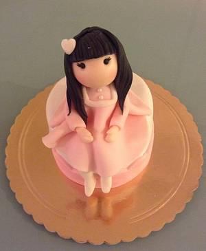 A sweet doll - Cake by Eleonora Del Greco