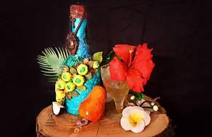 Indian Cuisines Collaboration - Goa Fenni - Cake by Shikha