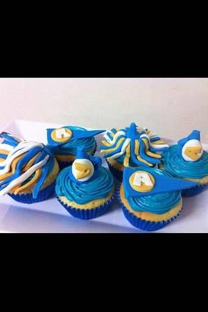 cheerleader cupcakes - Cake by Susan Johnson