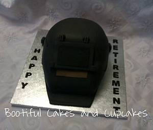 welding mask - Cake by bootifulcakes