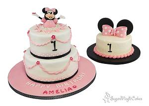Minnie Smash! - Cake by SugarMagicCakes (Christine)