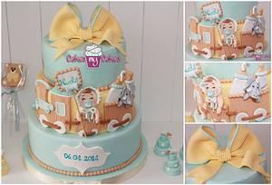 battesimo Nicolo' - Cake by Giovanna Galeota